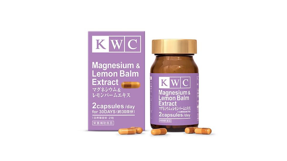 Magnesium and Lemon Balm