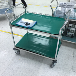 Trolley with ESD Mat