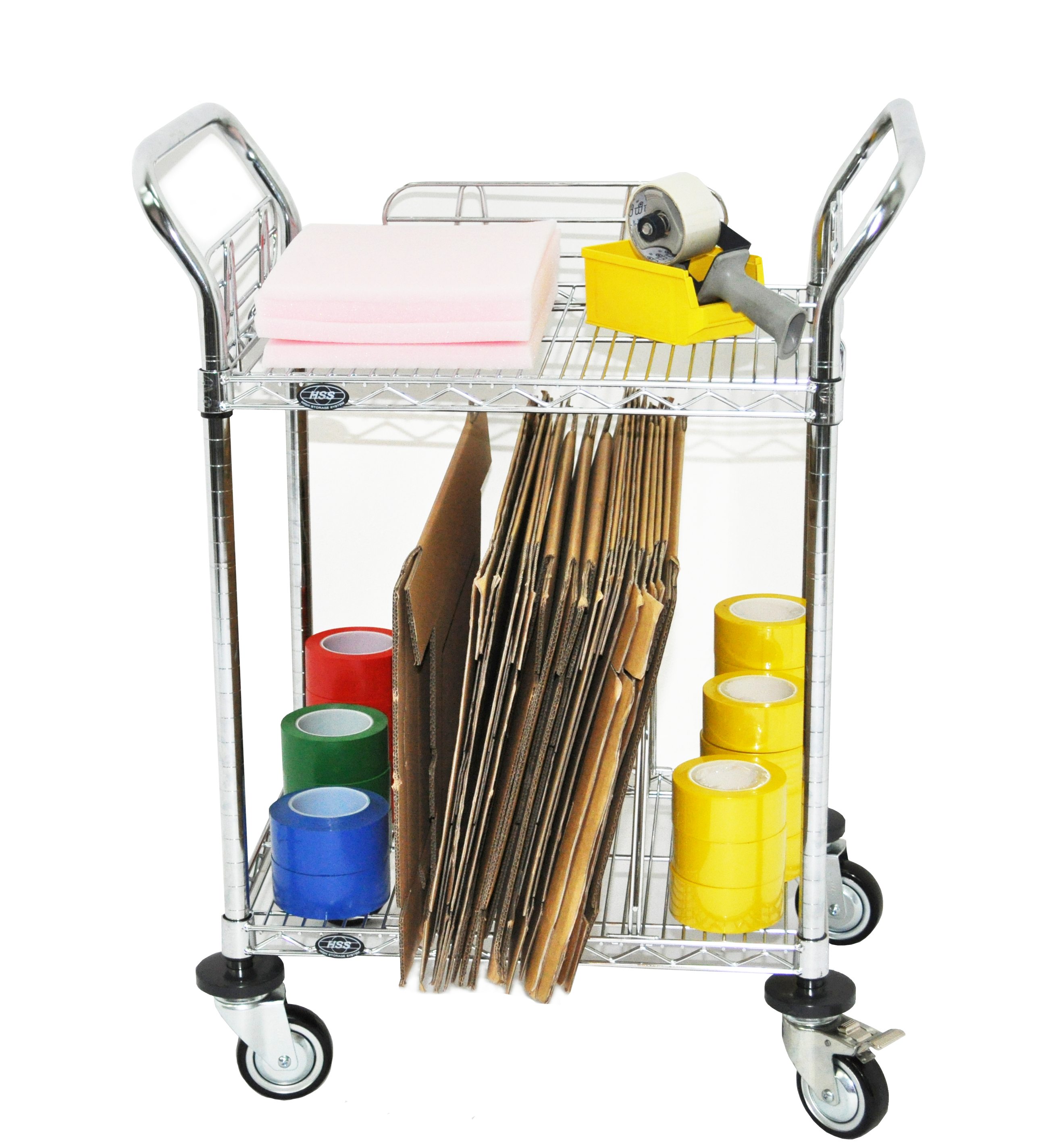 Chrome Wire Trolley Application