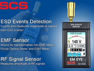 Detect and Measure ESD Events with our EM Eye Meter