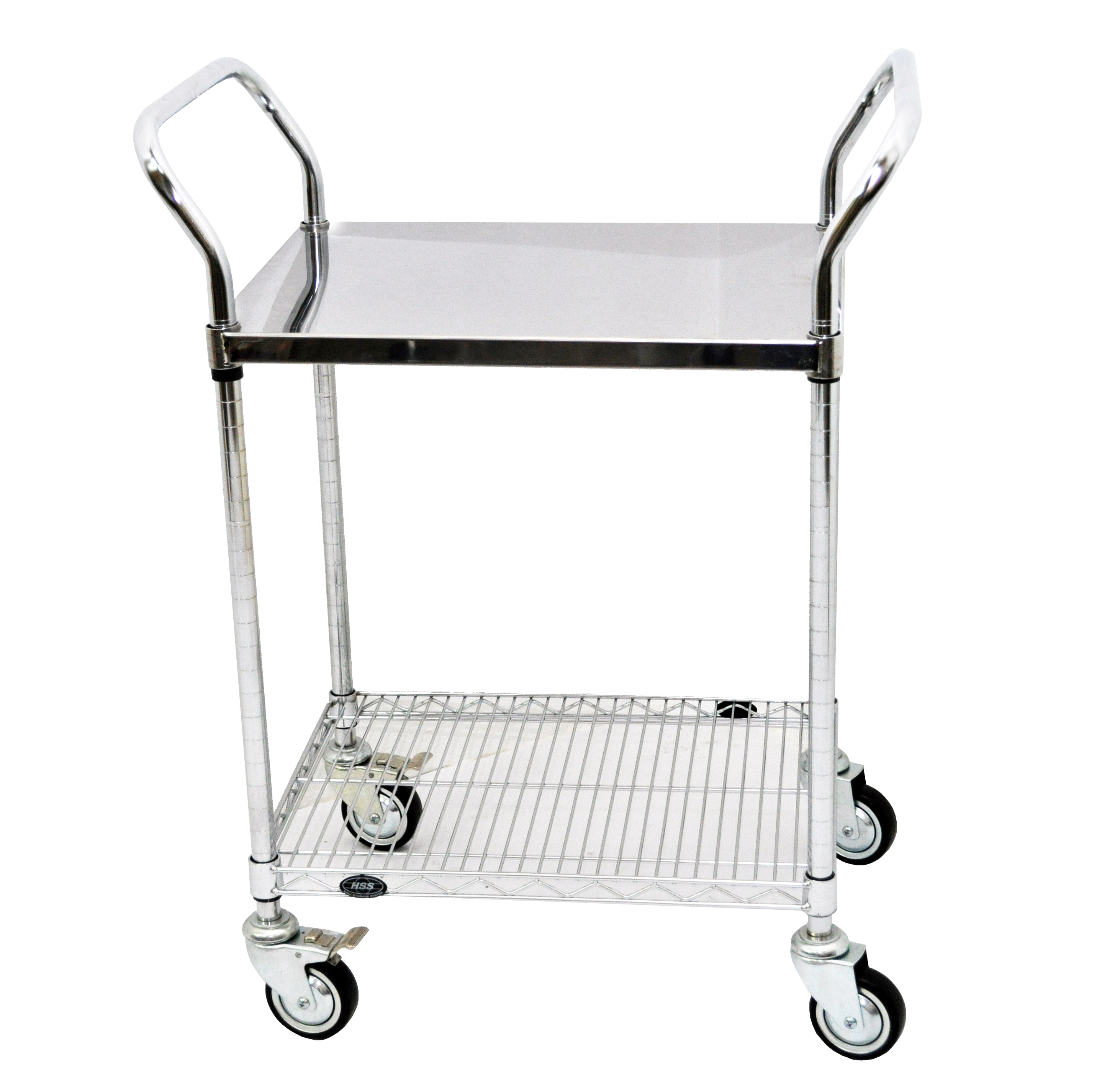 Stainless Steel Solid Trolley