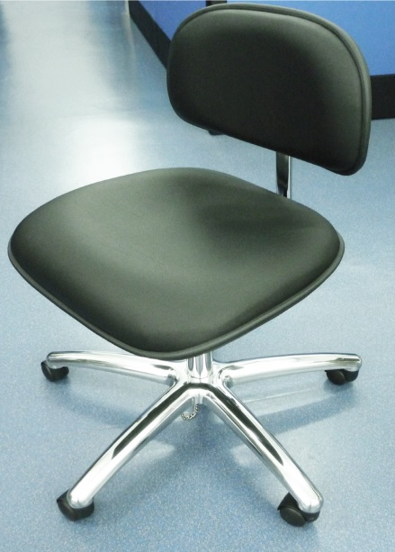 ESD Chair with Grounding Chain