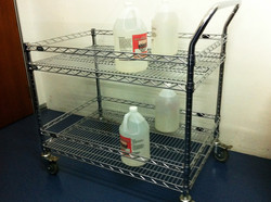 Stainless Steel Wire Trolley