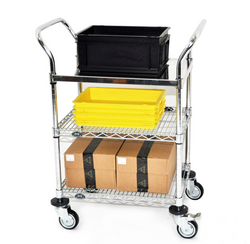 Stainless Steel Solid Trolley Application