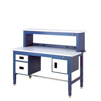 Workbench with Instrument Shelf