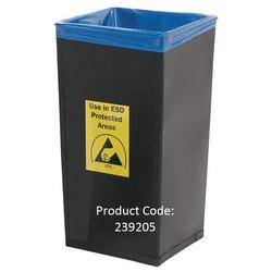 Conductive Fibreboard Waste Bin