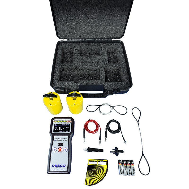 DIGITAL SURFACE RESISTANCE METER KIT Con