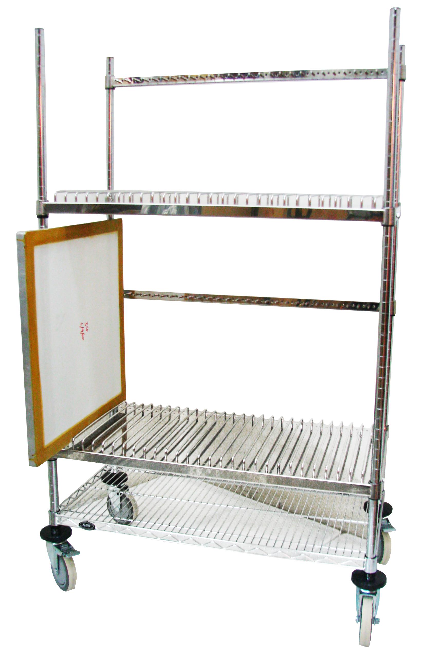 Stencil Storage Cart