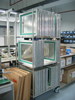 Stencil Frame Storage Rack