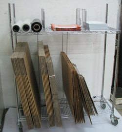 Carton rack