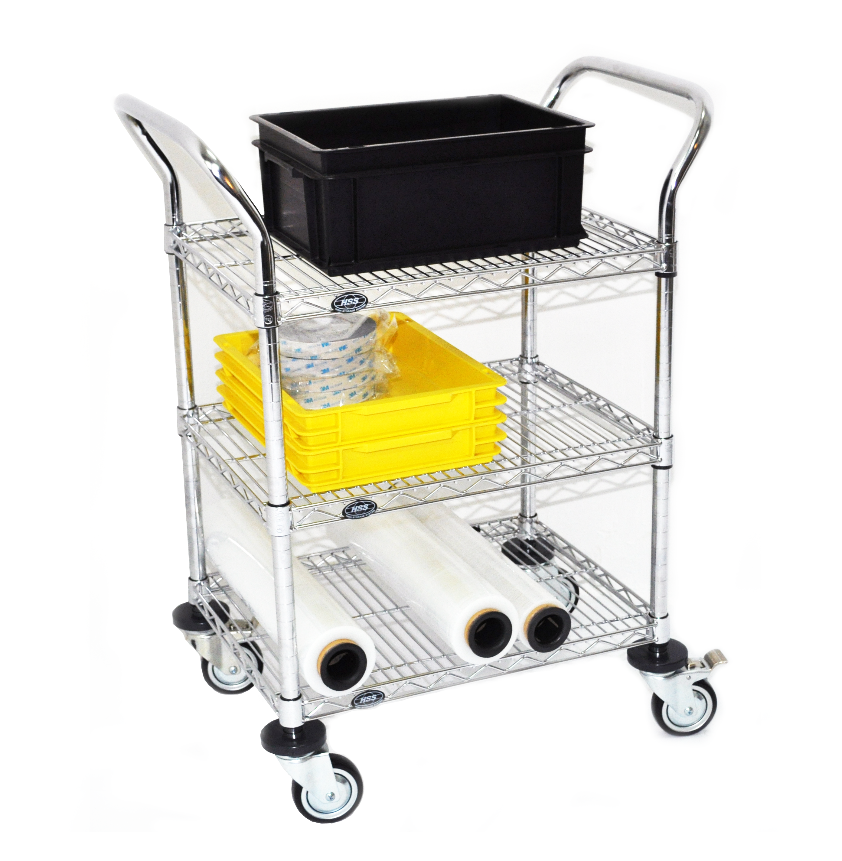 Stainless Steel Wire Trolley Application