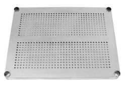 Stainless Steel Perforated Shelf component