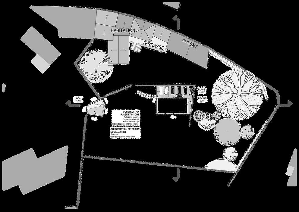 PISCINE plan archiTEctEs
