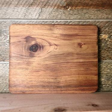 simple koa cutting board