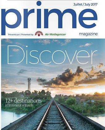prime magazine, Air Madagacar