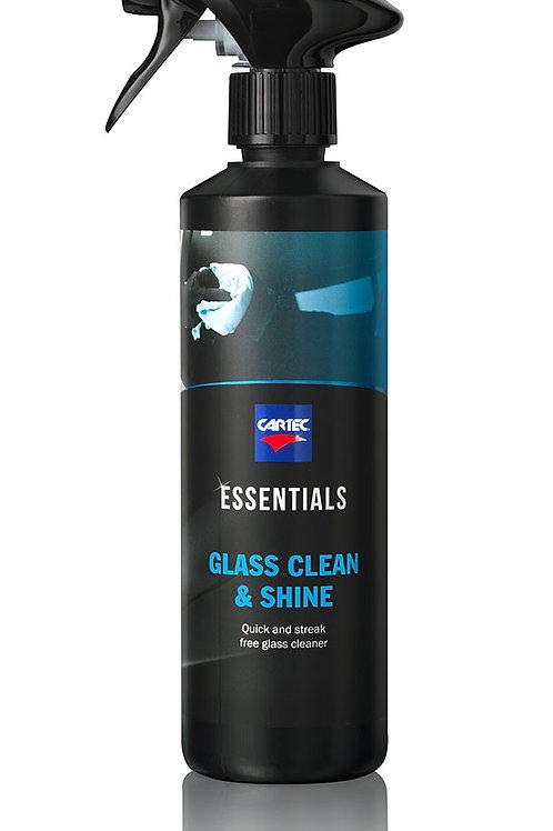 Glass clean & shine