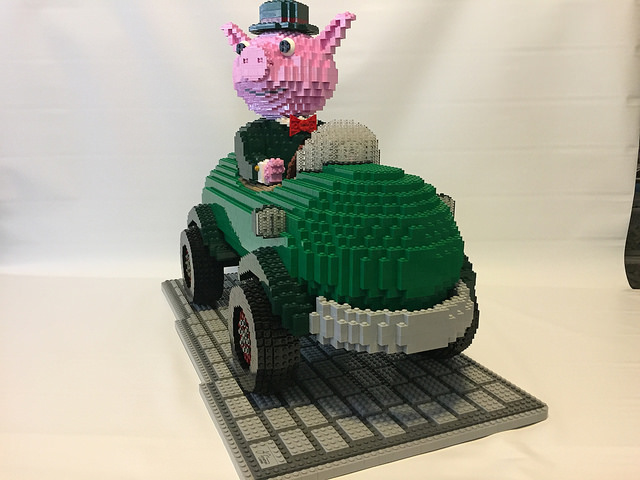 Mr. Fumble's Pickle Car
