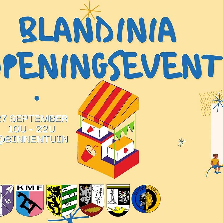 Blandinia Openingsevent