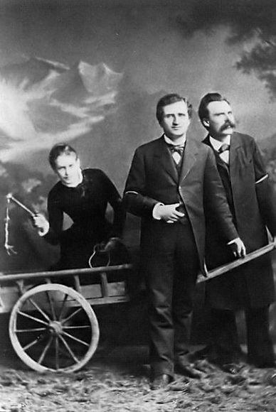 Lou Andreas Salomé, Paul Rée and F. Niet