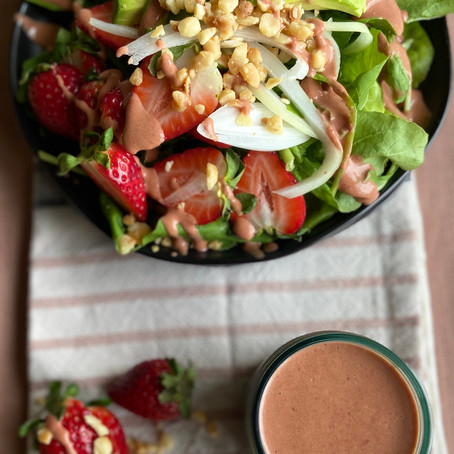 Big Island Strawberry Salad