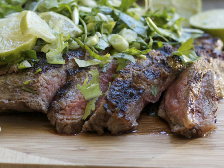 Cumin-marinated Flank Steak