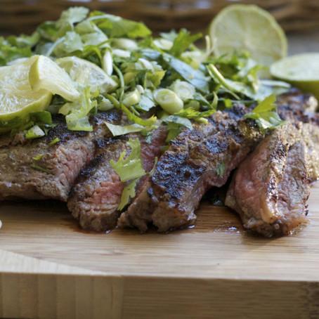Cumin-marinated Flank Steak