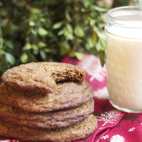 Triple Ginger-Molasses Cookies (gf)