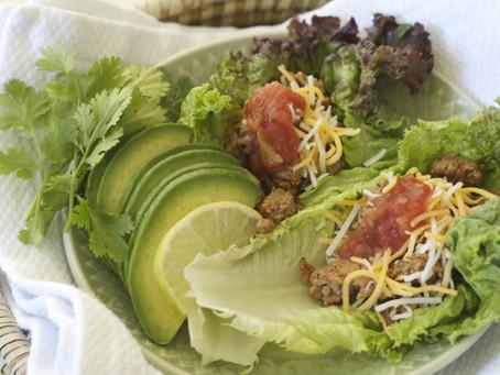 Turkey Tacos (lettuce wrapped)