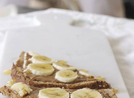 Banana-Almond Butter Toast
