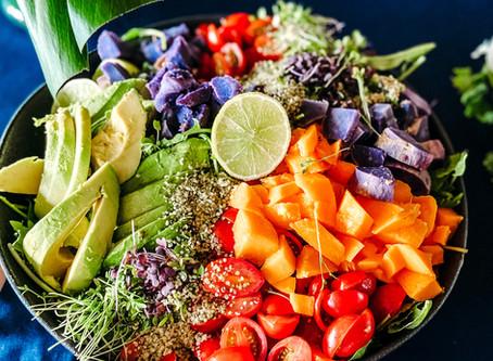 Hawaii Farmers Market Salad