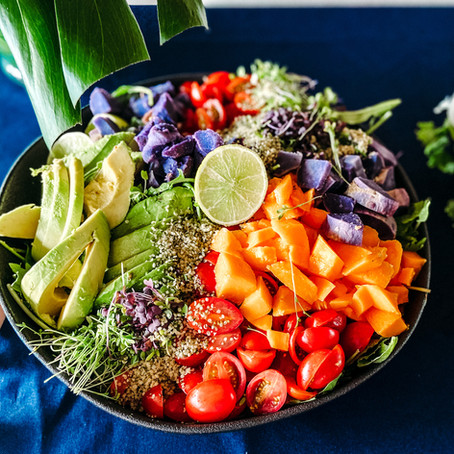 Hawaii Farmers Market Salad