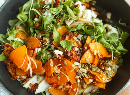 Butternut and Pear Autumn Salad