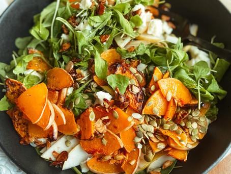Butternut and Pear Autumn Salad