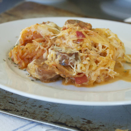 Easy Spaghetti Squash Casserole