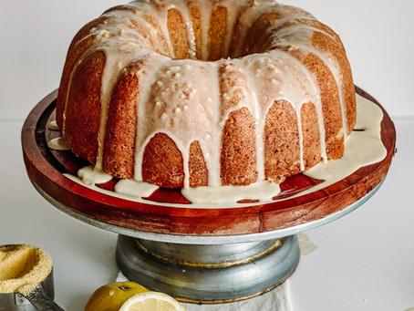 Summer Squash Lemon 'Cake'