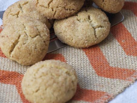 Snickerdoodle Cookies (gf)