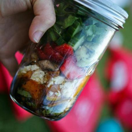 Mason Jar Glory Salad