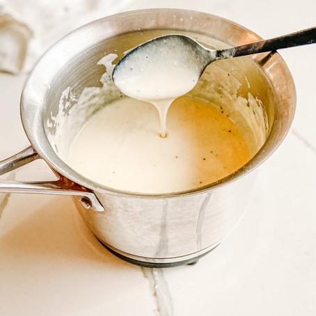 Béchamel Sauce (almost dairy-free)