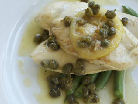 Chicken Piccata (gf)