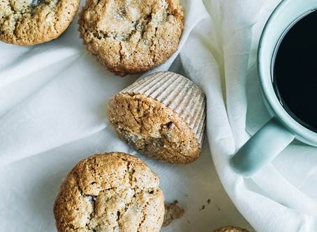 Choc Chip Banana Bread Muffins (gf)