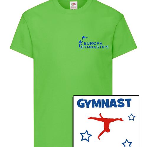 Europa T-Shirt w/ Back Print