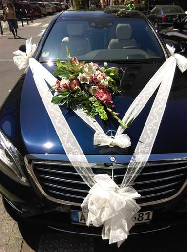 decor voiture mariage
