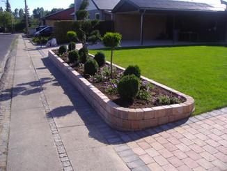 Anlægsgartner Gardene Reetablering Belægning Højbede