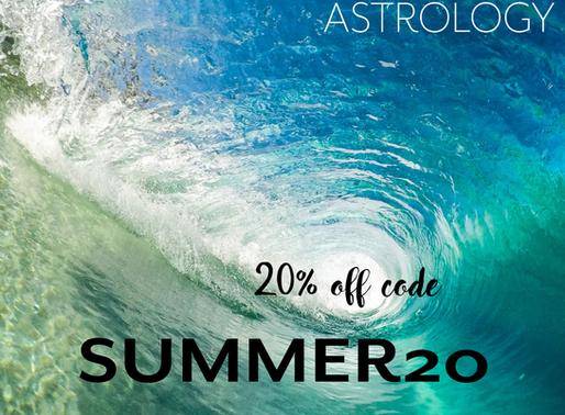 Solar vibes 20% off promo