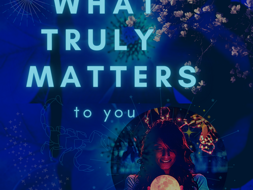 What truly matters – to you