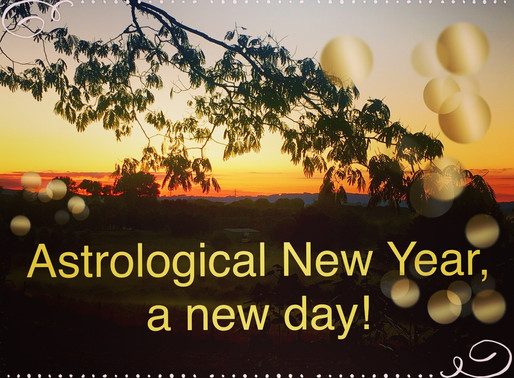 Astrological New Year
