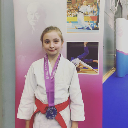 Milly's success at Scottish Championships