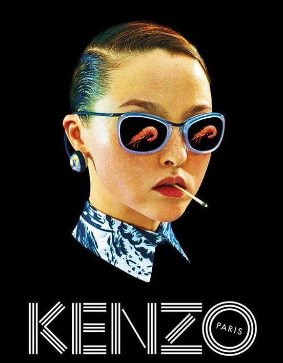 Kenzo campaign by Toilet Paper