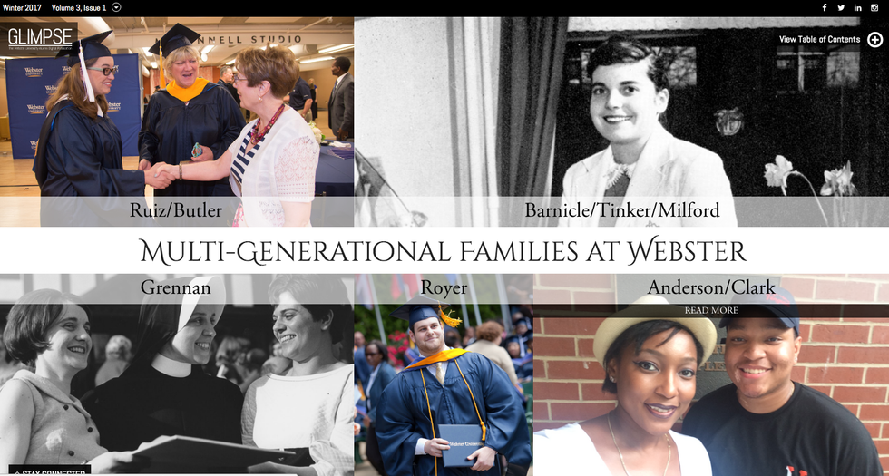 Multi-Generational Families at Webster