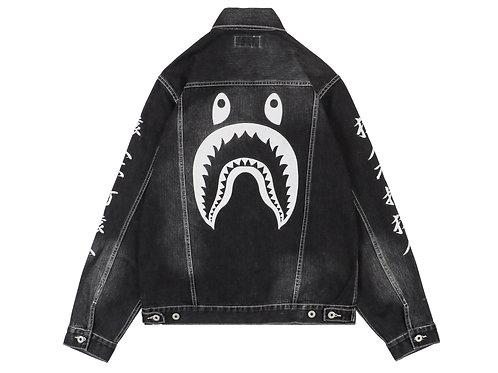 Bape shark Jacket Black